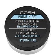Gosh Prime'n Set Primer & Mattifying Setting Powder Hydration - маска