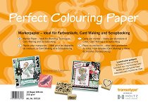 Хартия за скрапбукинг и рисуване