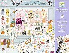 Декорирай със стикери - Мода - Творчески комплект - играчка