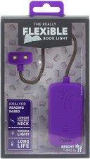 Гъвкава цветна лампичка за четене -