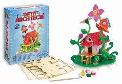 """Къща с цветя - Творчески комплект от серията """"Petit Architecte"""" -"""