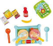 Детски двоен котлон за готвене - Комплект с аксесоари -
