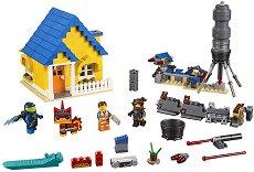 """Къщата на Емет - 2 в 1 - Детски конструктор от серията """"LEGO: Movie 2"""" - играчка"""