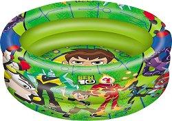 """Надуваем бебешки басейн - Ben 10 - С диаметър ∅ 100 cm от серията """"Ben 10"""" - пъзел"""