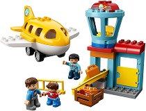 """Летище - Детски конструктор от серията """"LEGO Duplo"""" - играчка"""