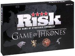 """Риск: Игра на тронове - съкратена версия - Стратегическа настолна игра  на английски език от серията """"Game of Thrones"""" -"""