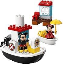 """Корабът на Мики Маус - Детски конструктор от серията """"LEGO Duplo"""" -"""