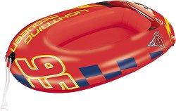 Надуваема детска лодка - МакКуин Светкавицата - количка