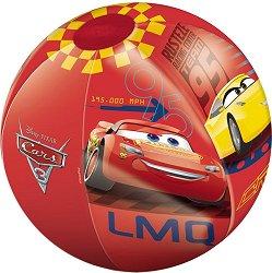 Надуваема топка - На състезание - количка