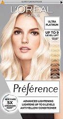L'Oreal Preference Extreme Platinium - Изрусител за коса с платинен нюанс -