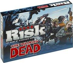 Риск: Живите мъртви - Стратегическа настолна игра на английски език -