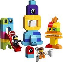 """Извънземните посетители на Емет и Луси - Детски конструктор от серията """"LEGO Duplo"""" -"""