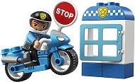 """Полицейски мотор - Детски конструктор от серията """"LEGO Duplo"""" -"""