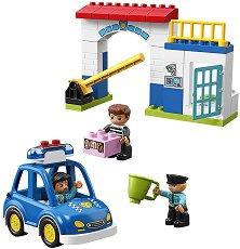 """Полицейски участък - Детски конструктор от серията """"LEGO Duplo"""" - играчка"""