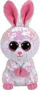 """Зайче - Bonnie - Плюшена играчка с пайети от серията """"Flippables"""" - играчка"""