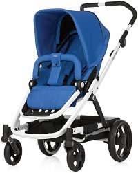 Комбинирана бебешка количка - GO - С 4 колела -