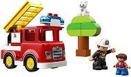 """Пожарникарски камион - Детски конструктор от серията """"LEGO Duplo"""" -"""