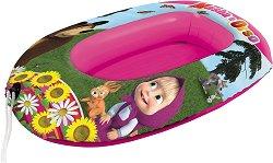 Надуваема детска лодка - Ваканция с Маша и Мечока - играчка