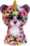"""Леопард - Giselle - Плюшена играчка от серията """"Beanie Boos"""" - играчка"""