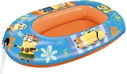 Надуваема детска лодка - Миньоните - раница