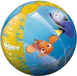 """Надуваема топка - Дори - С диаметър ∅ 50 cm от серията """"Търсенето на Дори"""" - несесер"""