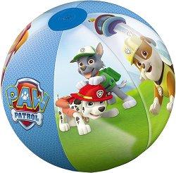 """Надуваема топка - Към базата - С диаметър ∅ 50 cm от серията """"Пес Патрул"""" - топка"""