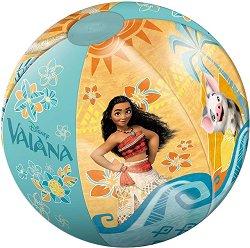 """Надуваема топка - Океански приключения - С диаметър ∅ 50 cm от серията """"Смелата Ваяна"""" - детски аксесоар"""