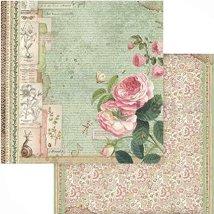 Хартии за скрапбукинг - Рози - Размери 30.5 х 30.5 cm