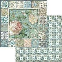 Хартии за скрапбукинг - Рози и орнаменти