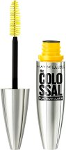 Maybelline The Colossal Platinum Black Mascara - Спирала за обемни мигли - серум
