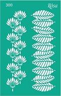 Самозалепващ шаблон - Floral Poem - Размери 13 х 20 cm