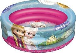 Надуваем бебешки басейн - Елза и Анна - играчка