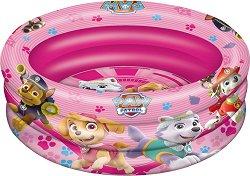 """Надуваем бебешки басейн - Скай и приятели - С диаметър ∅ 100 cm от серията """"Пес Патрул"""" - играчка"""