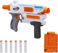 "Бластер - Modulus Mediator - Комплект с 6 броя меки стрелички от серията ""Nerf"" -"