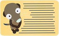 Меламинова подложка за хранене - Wildlife Meerkat -