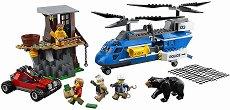 """Арест в планината - Детски конструктор от серията """"LEGO: City"""" - играчка"""
