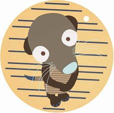 Подложка за хранене - Wildlife Meerkat -