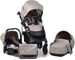 Бебешка количка 3 в 1 - 4x4 - С 4 колела -