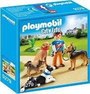 """Дресьор на кучета - Детски конструктор от серията """"Playmobil: City Life"""" - фигури"""