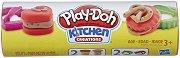 """Кутия за сладки - Творчески комплект с моделин от серията """"Play-Doh: Kitchen"""" - играчка"""