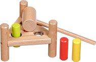 Наковалня с чукче - Комплект за игра от дърво -