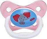"""Залъгалка от силикон с ортодонтична форма - За бебета от 6 до 12 месеца от серията """"PreVent"""" -"""