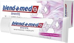 Blend-a-med 3D White Whitening Therapy Sensitive - паста за зъби