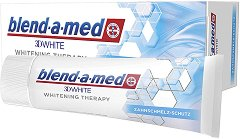Blend-a-med 3D White Whitening Therapy Enamel Care - паста за зъби