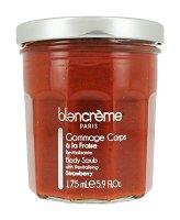 Blancreme Body Scrub With Strawberry - Скраб за тяло с ягода в стъклено бурканче -