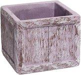Квадратна каменна кашпа - Lavender