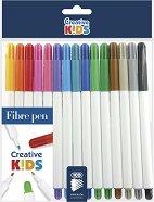 Флумастери - Rainbow - Комплект от 15 цвята