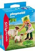 """Фермерка с овце - Фигура с аксесоари от серията """"Special: Plus"""" - фигури"""