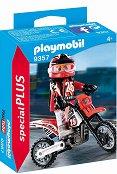 """Мотокрос състезател - Фигура с аксесоари от серията  """"Special: Plus"""" - фигура"""