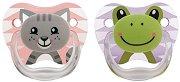 """Залъгалки от силикон с ортодонтична форма - Комплект от 2 броя от серията """"PreVent"""" за бебета от 0+ до 6 месеца -"""